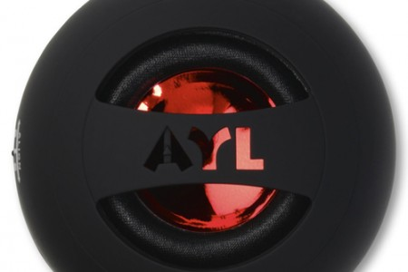 AYL Portable Mini Capsule Speaker System Expandable Bass Resonator