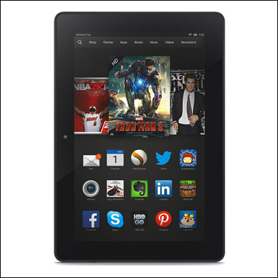 Kindle Fire HDX 8.9inch HDX Display Wi-Fi 16 GB