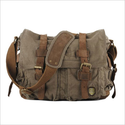 SERBAGS Military Style Messenger Bag