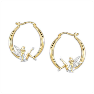 Gold Plated with Synthetic Cubic Zirconia
