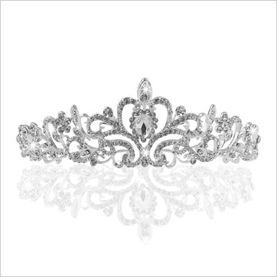 Wedding Tiara Rhinestones Crystal
