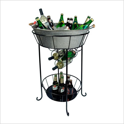 Artland Oasis Party Station Galvanized Metal