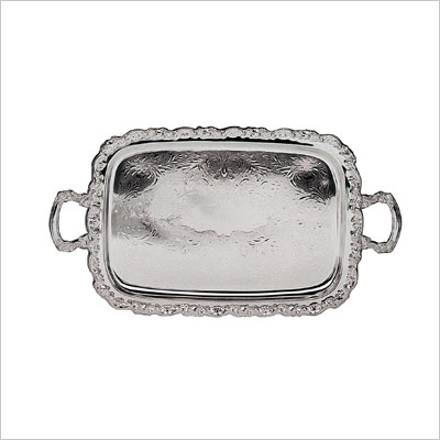 Elegance Silver Ashley Silver Plated Tray With Handles