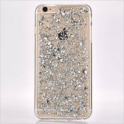 Luxury Soft Bling Glitter Sparkle Hybrid Bumper Case iPhone 6