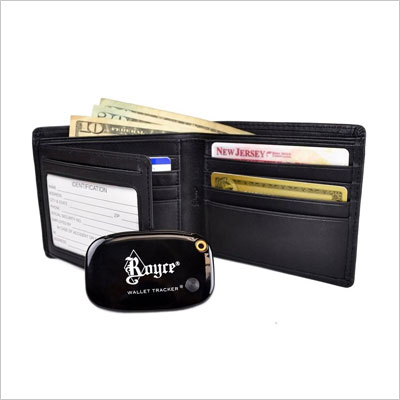 Royce Freedom Wallet for Men with Wallet Tracker