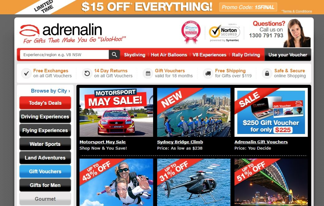 Adrenalin Official Landing Page