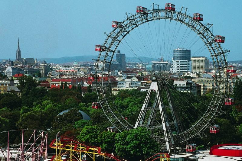 wheel prater park vienna