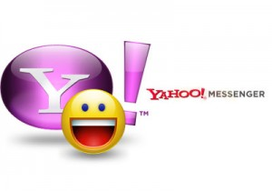 The Yahoo Messenger Android app