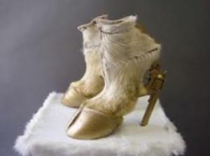 Animal high heels