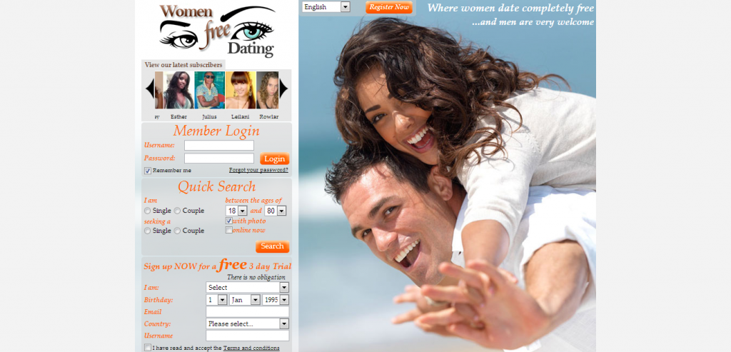 Free online dating sites for females