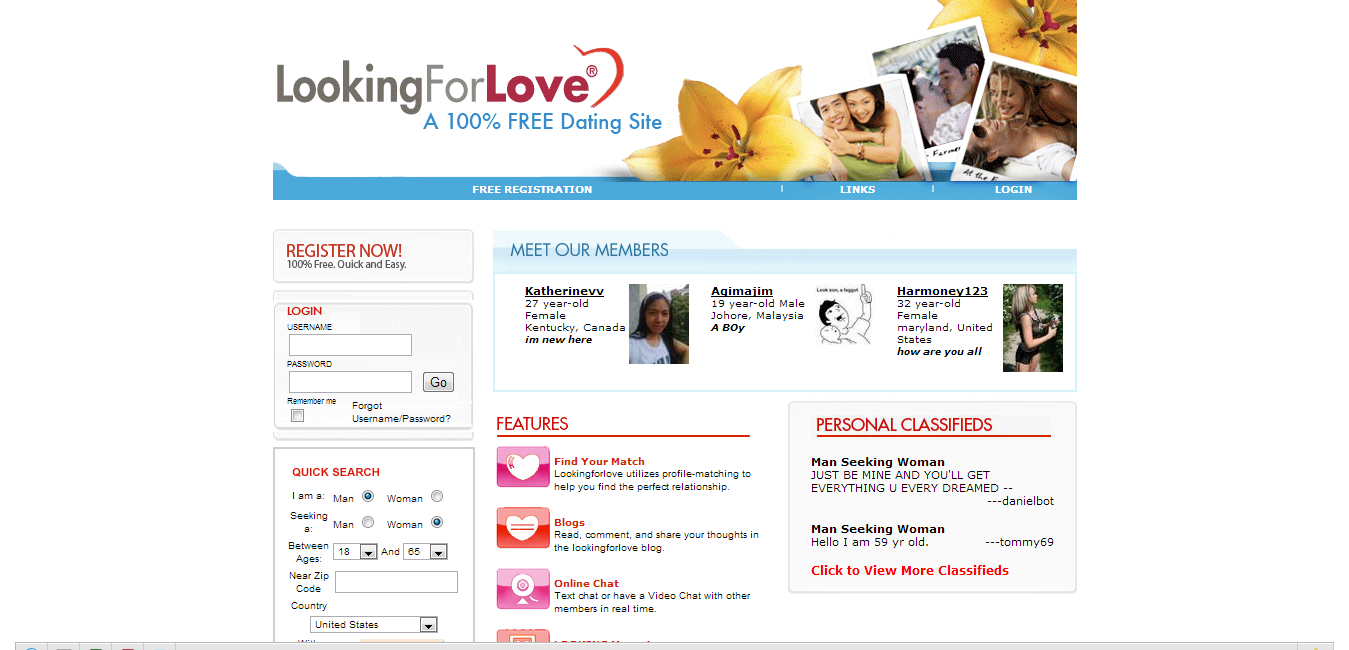 free dating websites for women