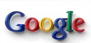 Google colorful logo, the most advanced search engine