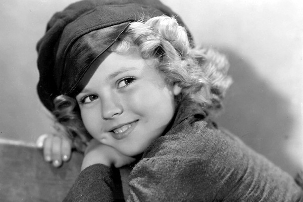 Shirley Temple smilling