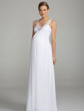 10 Designer Pregnant Wedding Dress Models To Make You Look Like A Princess (6)