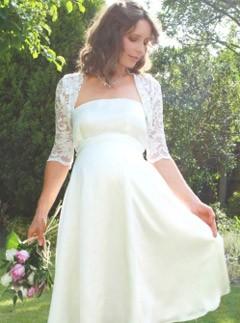 10 Designer Pregnant Wedding Dress Models To Make You Look Like A Princess (5)