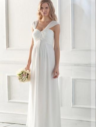 10 Designer Pregnant Wedding Dress Models To Make You Look Like A Princess (3)