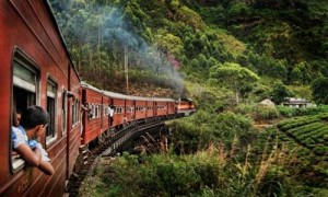 a train's regular route to the final destination, a rail tour for every person