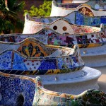 Guell Park in Barcelona, a must see sight in the city