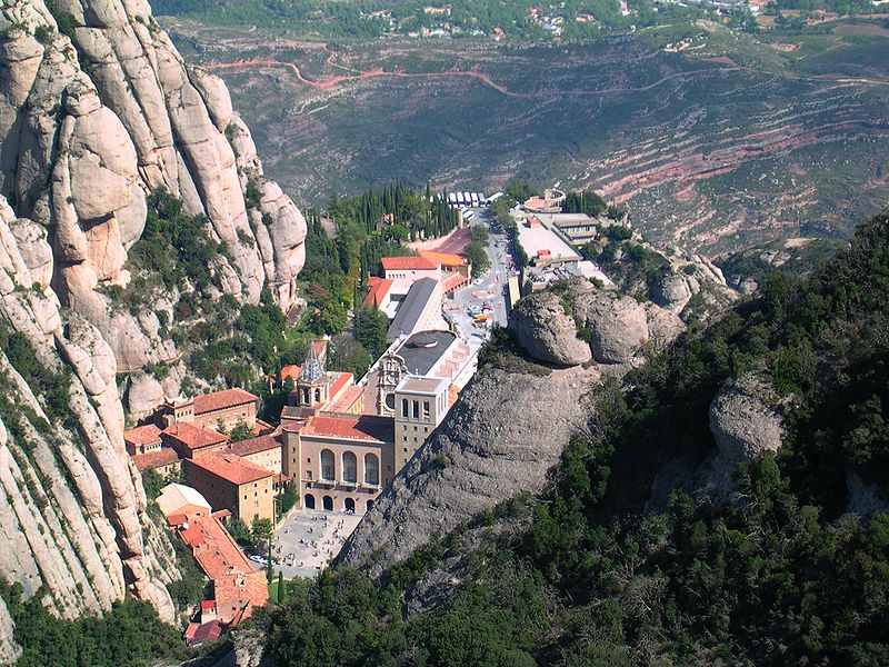a beautiful place located near the city, a must see mountain in a tour of Barcelona