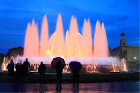 a must see fountain while exploring Barcelona by car
