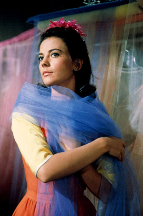 Natalie Wood Westside Story I Feel-Pretty dress