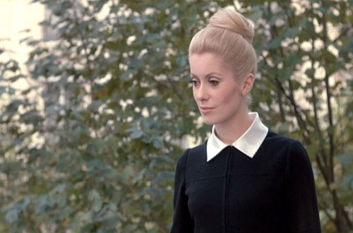 Catherine Deneuve Belle de Jour black dress