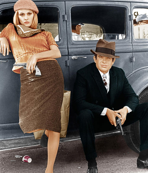Faye Dunaway Bonnie and Clyde beret scarf