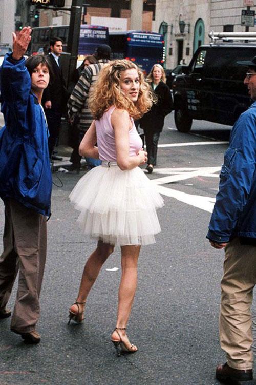 Sarah Jessica Parker tutu Sex and the City
