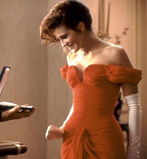 Julia Roberts red dress Pretty Woman