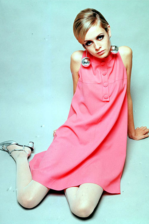 Twiggy mod style Mary Quant dress