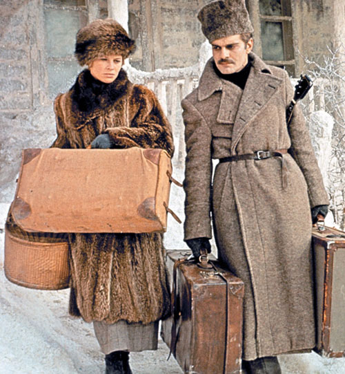 Julie Christie Dr. Zhivago look fur coat