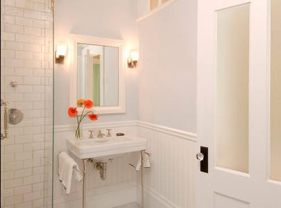 bathroom decorating ideas fake mirror