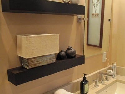 Bath And You Dont Want To Give Up On Comfort For Space The Floating Shelves May Bring In Some Great Opportunities To Have Both Practicality Style And