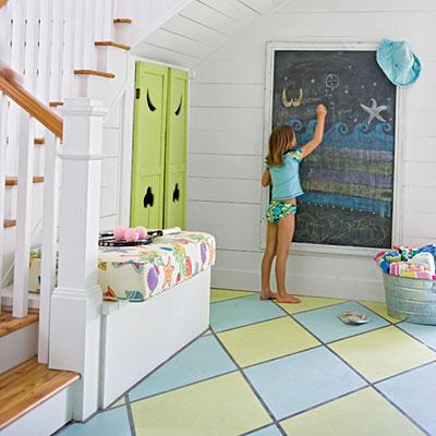 interior design ideas floor paint
