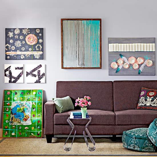 interior design ideas wall art