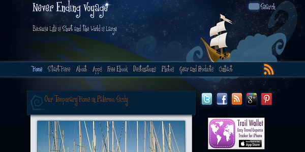 never ending voyage