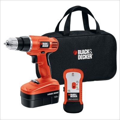 Black & Decker 18-Volt NiCad 3/8-Inch Cordless Drill/Driver