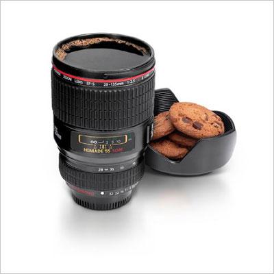 Camera Lens Cup, Black
