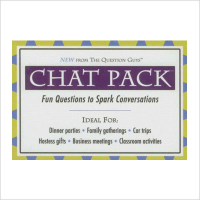 Chat Pack-Fun Questions to Spark Conversations
