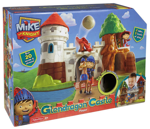 Fisher-Price Mike the Knight Glendragon Castle Playset