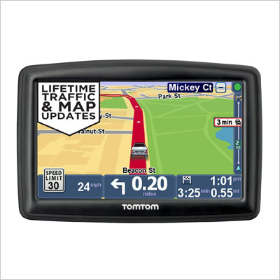 GPS Navigator with Lifetime Traffic & Maps