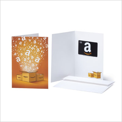 Gift Cards - In a Greeting Card - Free One-Day Shipping