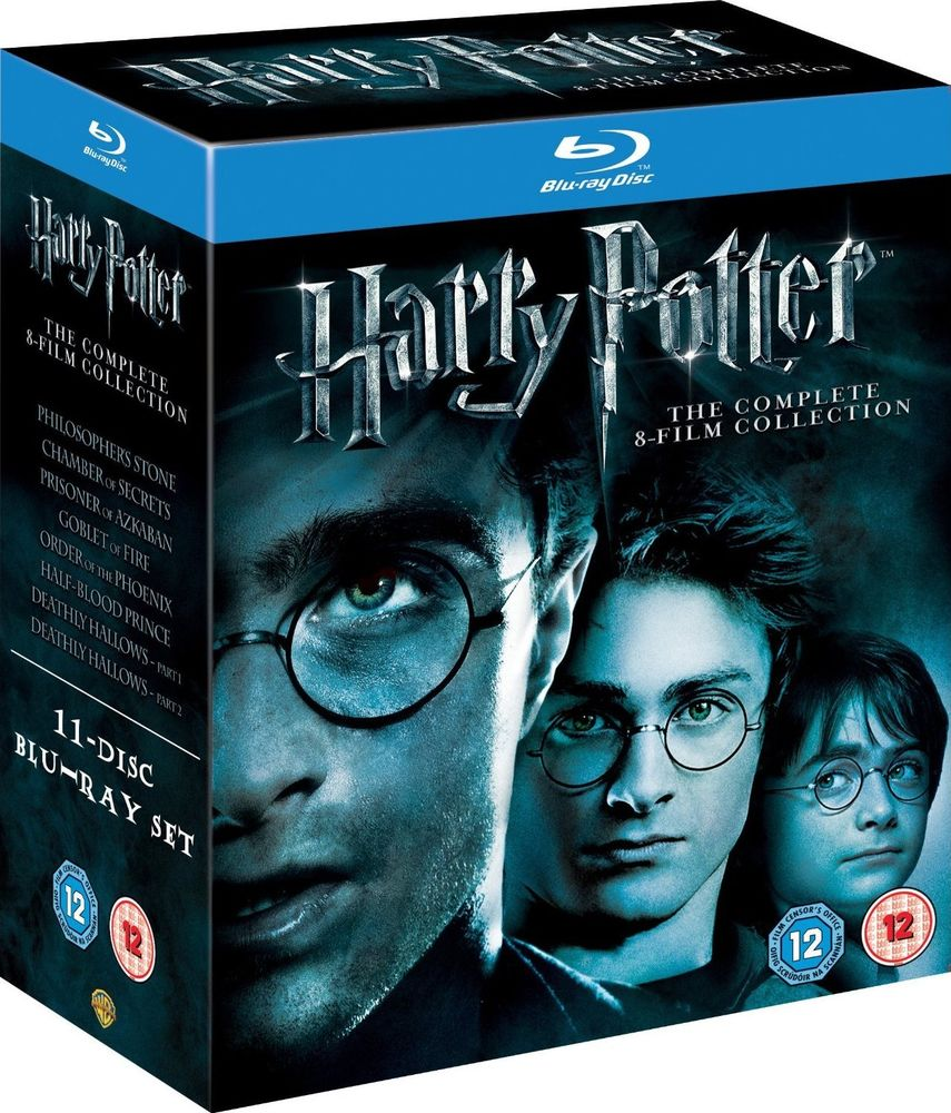 Harry Potter The Complete 8-Film Collection Blu-ray