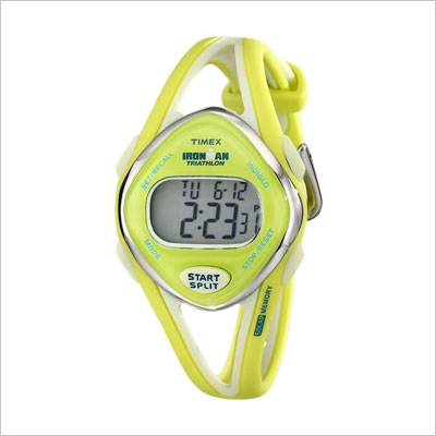 Ironman Sleek 50-Lap Lime Resin Watch
