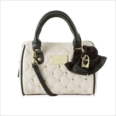 Betsey Johnson Mini Crossbody Satchel Bag