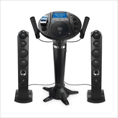 Singing Machine Pedestal CD+G Karaoke Player