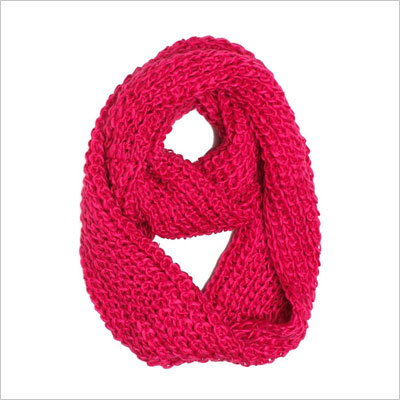 Thick Knitted Fashion Winter Loop Scarf
