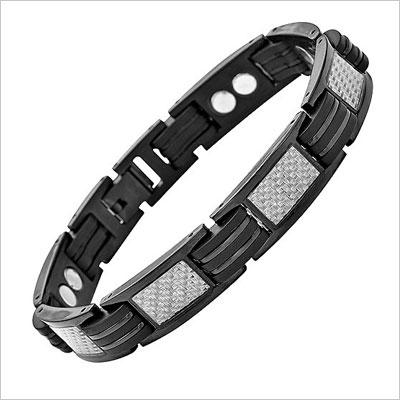 Titanium Magnetic Bracelet Carbon Fibre