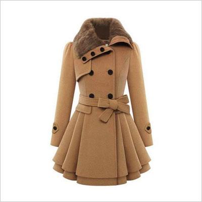 Wool Trench Coat Jacket