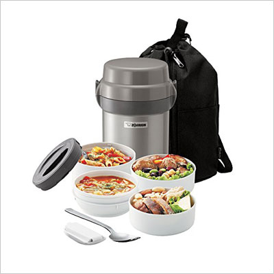 Zojirushi SL-JAE14SA Mr. Bento Stainless Steel Lunch Jar